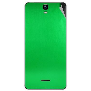 Snooky 44248 Mobile Skin Sticker For Micromax Canvas HD plus A190 - Green