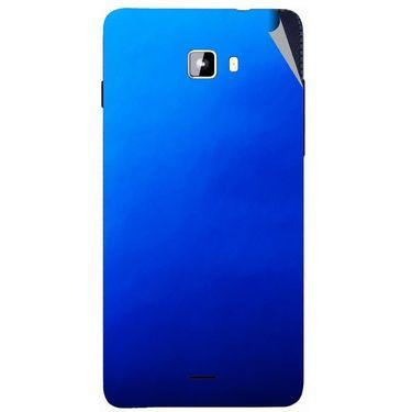 Snooky 44312 Mobile Skin Sticker For Micromax Canvas Nitro A311 - Blue