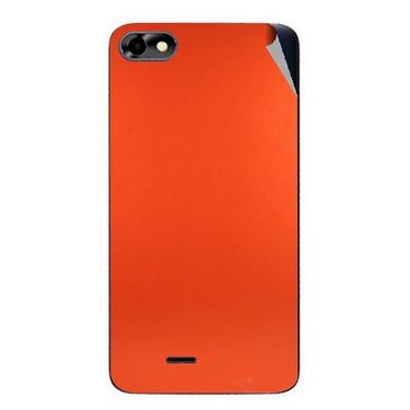 Snooky 44366 Mobile Skin Sticker For Micromax Micromax Bolt D321 - Orange