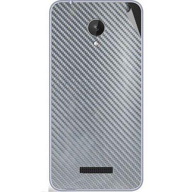 Snooky 44382 Mobile Skin Sticker For Micromax Micromax Canvas Spark Q380 - silver