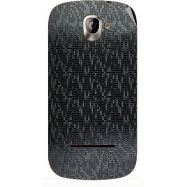 Snooky 44400 Mobile Skin Sticker For Xolo A500 - Black
