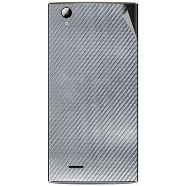 Snooky 44478 Mobile Skin Sticker For Xolo A600 - silver