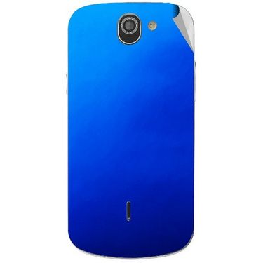 Snooky 44540 Mobile Skin Sticker For Xolo Q600 - Blue