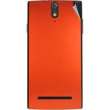 Snooky 44678 Mobile Skin Sticker For Xolo Q1020 - Orange