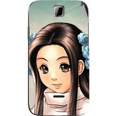 Snooky 45879 Digital Print Mobile Skin Sticker For Micromax Ninja 3.5 A54 - Multicolour
