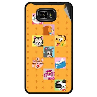 Snooky 46048 Digital Print Mobile Skin Sticker For Micromax Superfone Pixel A90 - Yellow