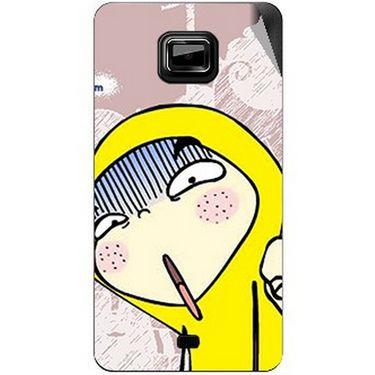 Snooky 46129 Digital Print Mobile Skin Sticker For Micromax Ninja A91 - Multicolour