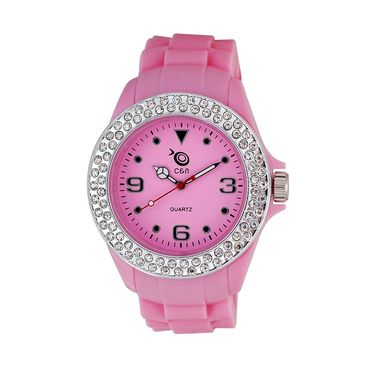 Chappin & Nellson Analog Round Dial Watch For Women_Cnp1w37 - Pink