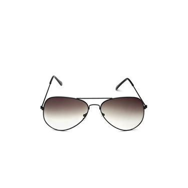Alee Metal Oval Unisex Sunglasses_127 - Brown