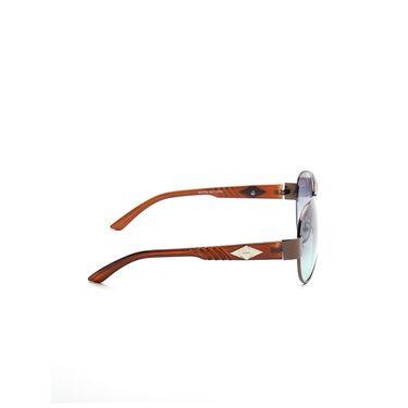 Alee Metal Oval Unisex Sunglasses_174 - Blue