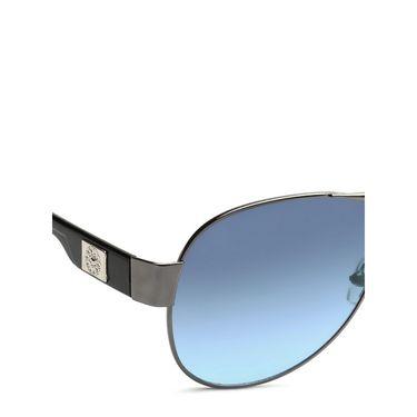 Alee Metal Oval Unisex Sunglasses_175 - Blue