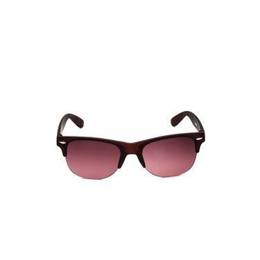 Alee Metal Oval Unisex Sunglasses_182 - Pink
