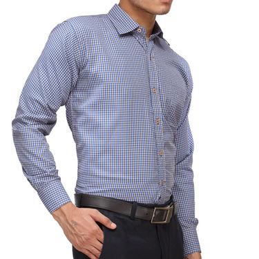 Rico Sordi Full Sleeves Checks Shirt_R006f - Blue