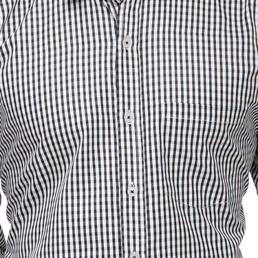 Rico Sordi Full Sleeves Stripes Shirt_R010f - Black