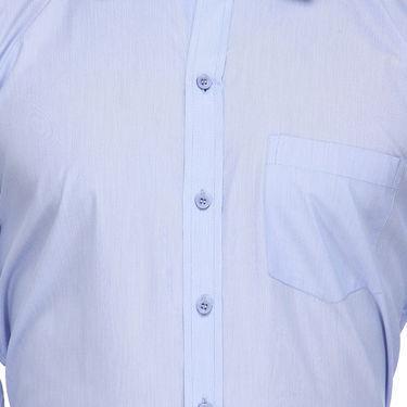 Rico Sordi Full Sleeves Plain Shirt_R017f - Blue