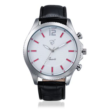 Rico Sordi Analog Round Dial Watch_Rwl44 - White
