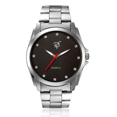 Rico Sordi Analog Round Dial Watch_Rws62 - Black