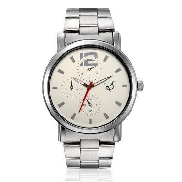 Rico Sordi Analog Round Dial Watch_Rws63 - White