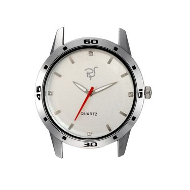 Rico Sordi Analog Round Dial Watch_Rws64 - White