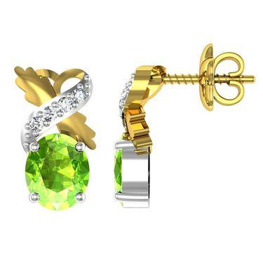 Ag Real Diamond Amisha Earrings_Agge030y