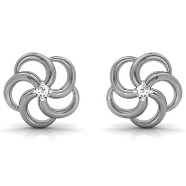 Ag Real Diamond Priti Earrings_Agse0005w