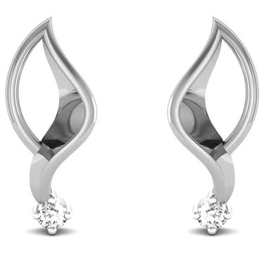 Ag Real Diamond Samita Earrings_Agse0014w