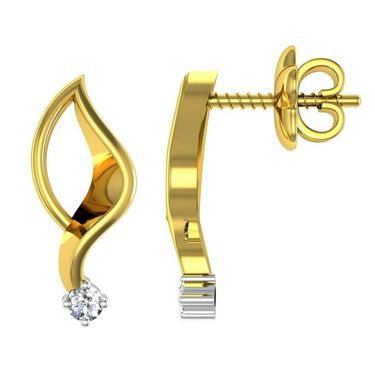 Ag Real Diamond Shilpa Earrings_Agse0014y