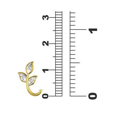 Ag Real Diamond Kajol Earrings_Agse0047y