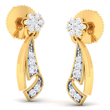 Kiara Sterling Silver Priyanka Earrings_5186e