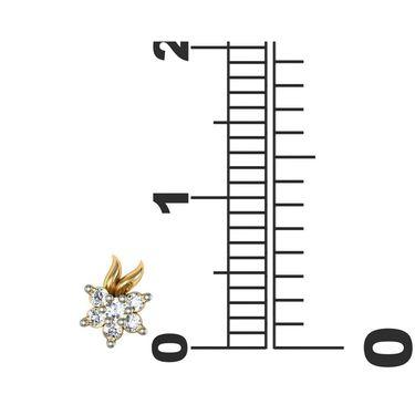 Avsar Real Gold and Swarovski Stone Parineeti Earrings_Ave032yb