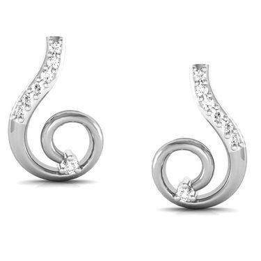 Avsar Real Gold and Swarovski Stone Madhuri Earrings_Bge036yb