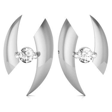 Avsar Real Gold and Swarovski Stone Supriya Earrings_Uqe024wb