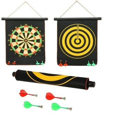 Foldable Magnetic 80.5 inch Dart Board For Indoor Entertainment