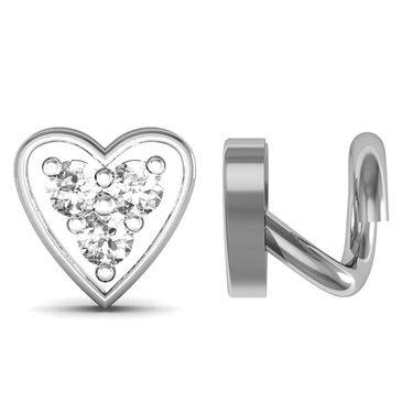 AG Real Diamond Minal Nose Pin_Agsno015w - White