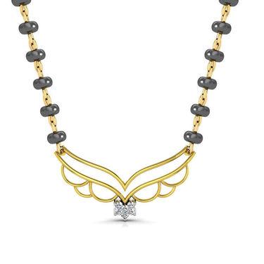 Avsar Real Gold & Swarovski Stone Vaishali Necklace_Nl4yb