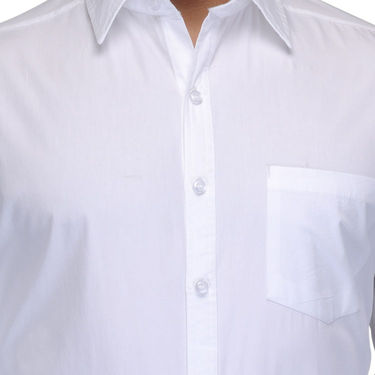Full Sleeves Cotton Shirt_whtsht - White