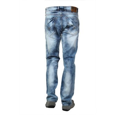 Branded Cotton Slim Fit Jeans_Uspadb - Dark Blue