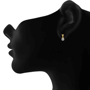 Mahi Rhodium Plated Swarovski Zirconia Pendant Set_Nl1105001g