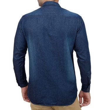 Stylox Full Sleeves Slim Fit Shirt_Nv201 - Navy Blue