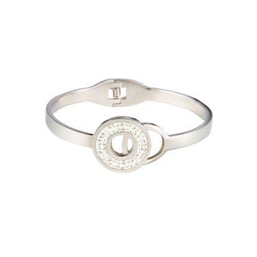 Swiss Design Stylish Bracelets_Sdjb05 - Silver