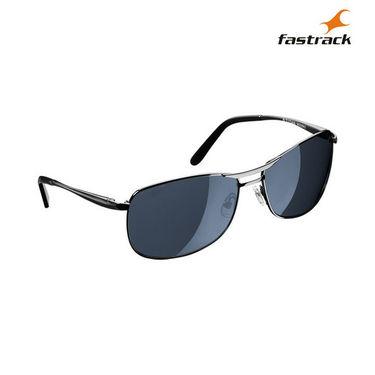 Fastrack 100% UV Protection Sunglasses For Men_M032bk2 - Black