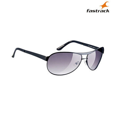 Fastrack 100% UV Protection Sunglasses For Men_M035gy1 - Purple