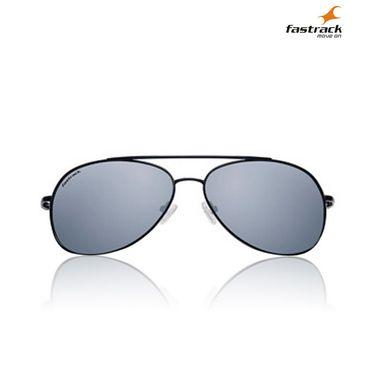 Fastrack 100% UV Protection Sunglasses For Unisex_M067bk1 - Black