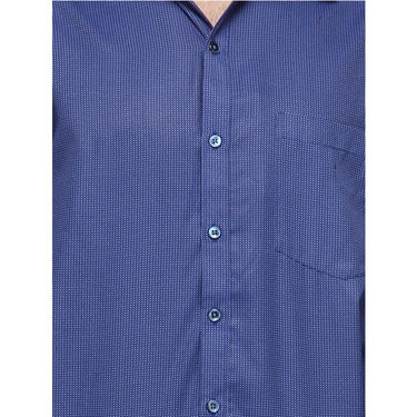 Copperline Cotton Rich Formal Shirt_CPL1142 - Blue