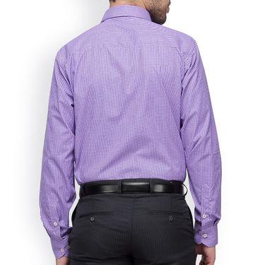 Copperline Cotton Rich Formal Shirt_CPL1147 - Pink Navy