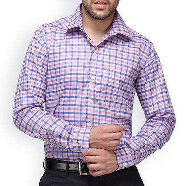 Copperline Cotton Rich Formal Shirt_CPL1150 - Pink Blue