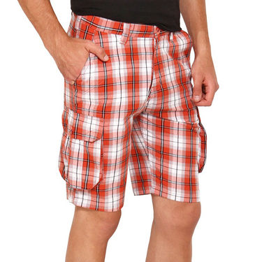 Wajbee Cotton Cargo Short For Men_Wca104 - Multicolor