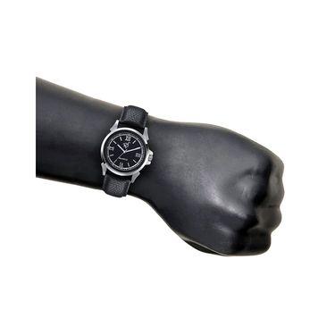 Rico Sordi Analog Round Dial Watch For Men_Rsmwl69 - Black