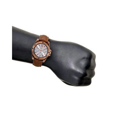 Rico Sordi Analog Round Dial Watch For Men_Rsmwl75 - White