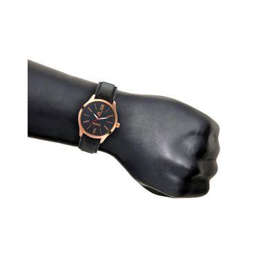 Rico Sordi Analog Round Dial Watch For Men_Rsmwl79 - Black
